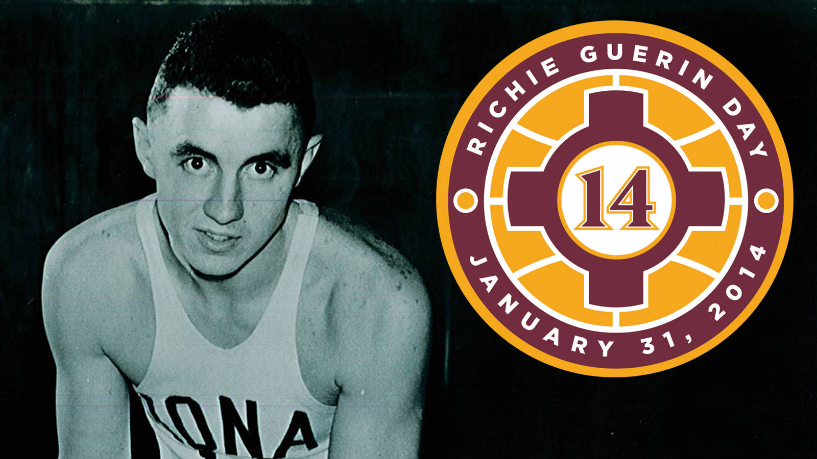 Iona To Retire Richie Guerin s No 14 Friday